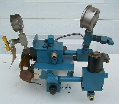Challenge Machine Paper Cutter 193 Part. Hydraulic Valve Assembly Only