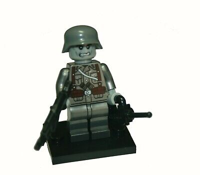 LEGO ZOMBIE SOLDIER WITH BIG GUN AND ARMY - Zombie Soldier