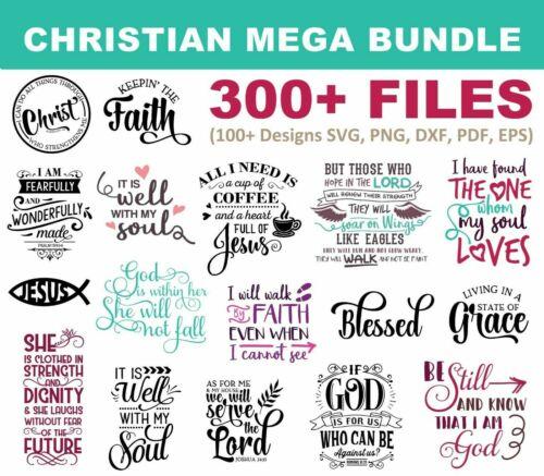 300+ Christian SVG Mega Bundle for Cricut, Cricut Explore Air 2