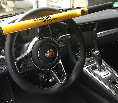 Original Kleinmetall Carlok deluxe Auto Diebstahlsicherung Lenkradkralle gelb