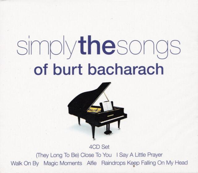 [NEW] 4CD: SIMPLY THE SONGS OF BURT BACHARACH