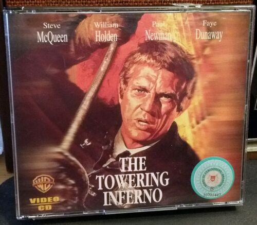 THE TOWERING INFERNO (Video CD, 1999 Warner Home Video)