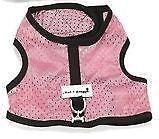 XS Pink Dog Harness