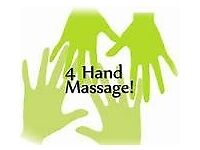 Try our 4 handed massages today