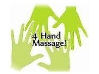 * 2 or 4 HANDED HOT OIL RELAXING MASSAGE*
