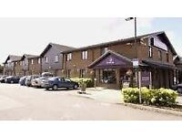 PREMIER INN HOTEL, SITTINGBOURNE, 1x FAMILY ROOM & 2x DOUBLE ROOMS, SATURDAY 24TH - 25TH MARCH