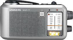 Sangean Am/Fm Emrgncy Radio Crank