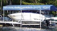 Aluminum Boat Lift - Special -PAY CASH WE EAT THE HST Boat Lifts