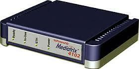 Mediatrix 4102-SIP VoIP Access Device allows 2 analog devices to