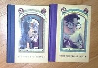 A Series of Unfortunate Events books for sale