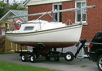 Nash 20 Sailboat and Trailer