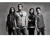 Kings of Leon Leeds concert tickets X 2. Including coach travel