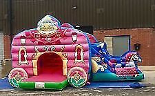 Bouncy Castle Disco Dome Rodeo Bull Unicorn Candy Floss Balloons Kent