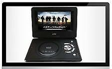 9.8 INCH LCD PORTABLE EVD / DVD WITH TV PLAYER / CARD READER / USB GAME
