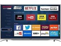 "55""PANASONIC smart tv £300,price is negotiable and guaranteed."