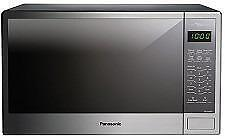 Four à Micro-Ondes Genius 1100W 1.3 pi.cu NN-SG656S Panasonic - Inox - Microwave Stainless Steel - BESTCOST.CA