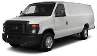 Big cube van ready for hire!