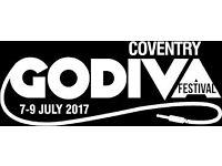 Bar Work at Godiva Festival, Coventry 2017!