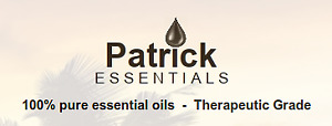 100% pure essential oils - Therapeutic Grade