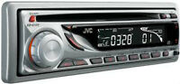 JVC KD-G120 Stereo CD Player In Dash Receiver