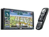 JVC KW-NX7000 DVD Sat Nav double din head unit with Ipod module