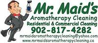 Mr. Maids Aromatherapy Cleaning - All Natural Clean