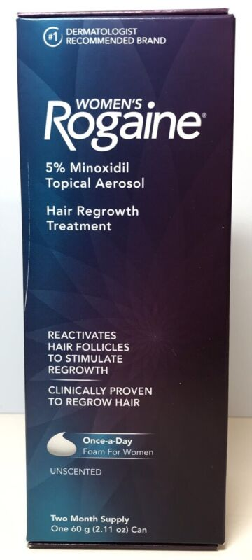 Rogaine Foam For Women 2 Month Supply Hair Regrowth Treatment Exp 2021+ 0216