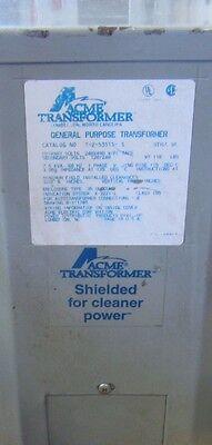 Acme Electrical Transformer T-2-53515-3s Primv 240480 V 120240 Free Shipping