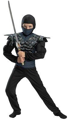 Boys Night Camo Ninja Camouflage Samurai Fighter Child Muscle Chest Digital Kids - Camouflage Ninja Costume