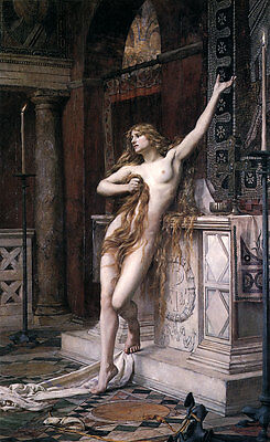 Hypatia Charles W. Mitchell Akt Philosophin Mathematikerin B A3 03554
