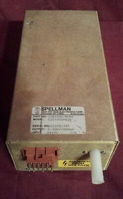 Spellmanthermo Hv Power Supply Cze1000 Mcnz Spectrometer Finnigan Mat 95 Ms
