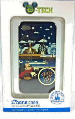 Disney Tech iPhone 4s Mickey Mouse Clip Case with Screen Guard & Cleaning Cloth