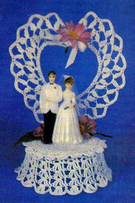 KEEPSAKE Wedding Cake Ornament/Topper/Decor/Crochet Pattern INSTRUCTIONS ONLY