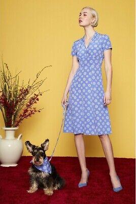 HVN 100% Silk Morgan Long Floral 40's Dress, $725 NWT, US 4, Tender Loving Care
