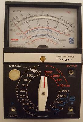Yf 370 Multi Tester Analog Analogue Multi Meter Multimeter Multitester Yf-370
