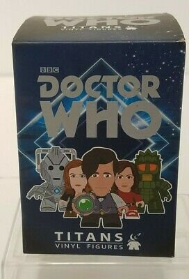 "Doctor Who 3"" Titans Vinyl Figures 11th Dr Day of the Doctor Fez variant Dr Who"