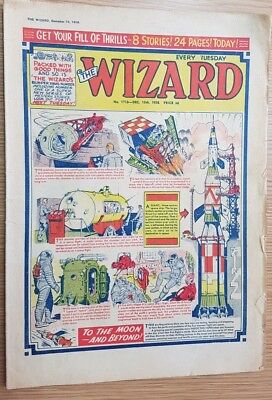 The Wizard Comic No 1713 December 13th 1958