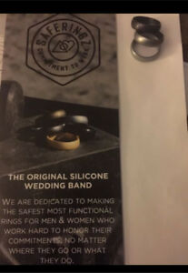 Saferingz  - 3 silicone wedding bands