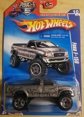 2009 Hot Wheels Ford F-150 Col. #146 (Gray Version)(B.F.5 Card)VHTF