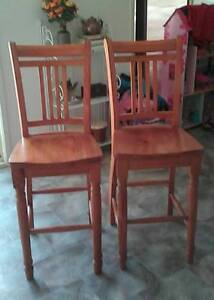 2 Timber Bar Stools Nowra Nowra-Bomaderry Preview