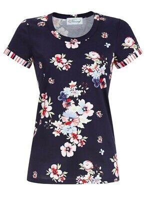 52 Single (- Damen  T. Shirt Kurzarm.. Baumwolle...Größe 52...Single Jersey   Ringella)