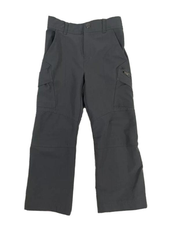 Columbia Boys Size XXS 4-5 Hiking Camping Pants Lightweight Quick Dry Gray
