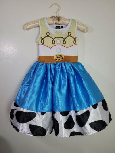 Disneys Toy Story 4 Girls Jessie Dress Costume~Size Small 6-6x