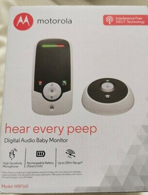 Motorola Digital Audio Baby Monitor MBP160