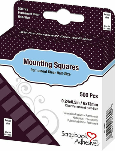 Scrapbook Adhesives by 3L Scrapbook Adhesives Mounting Squares, Clear#56