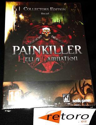 PAINKILLER HELL & DAMNATION COLLECTORS EDITION UNCUT PC PAL Español Nuevo NORDIC