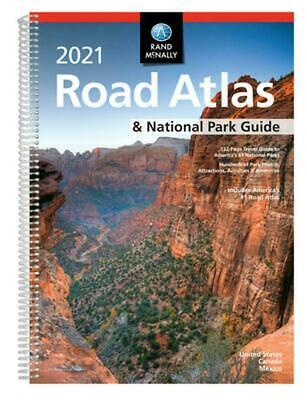 Rand McNally 2021 Road Atlas & National Park Guide Spiral US, Canada, Mexico