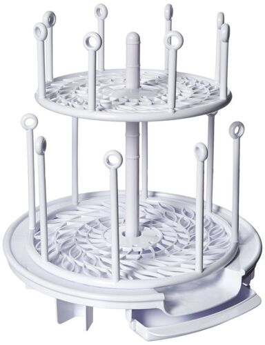 The First Years Spinning Modular Drying Rack And Organizer 12 or More Bottles