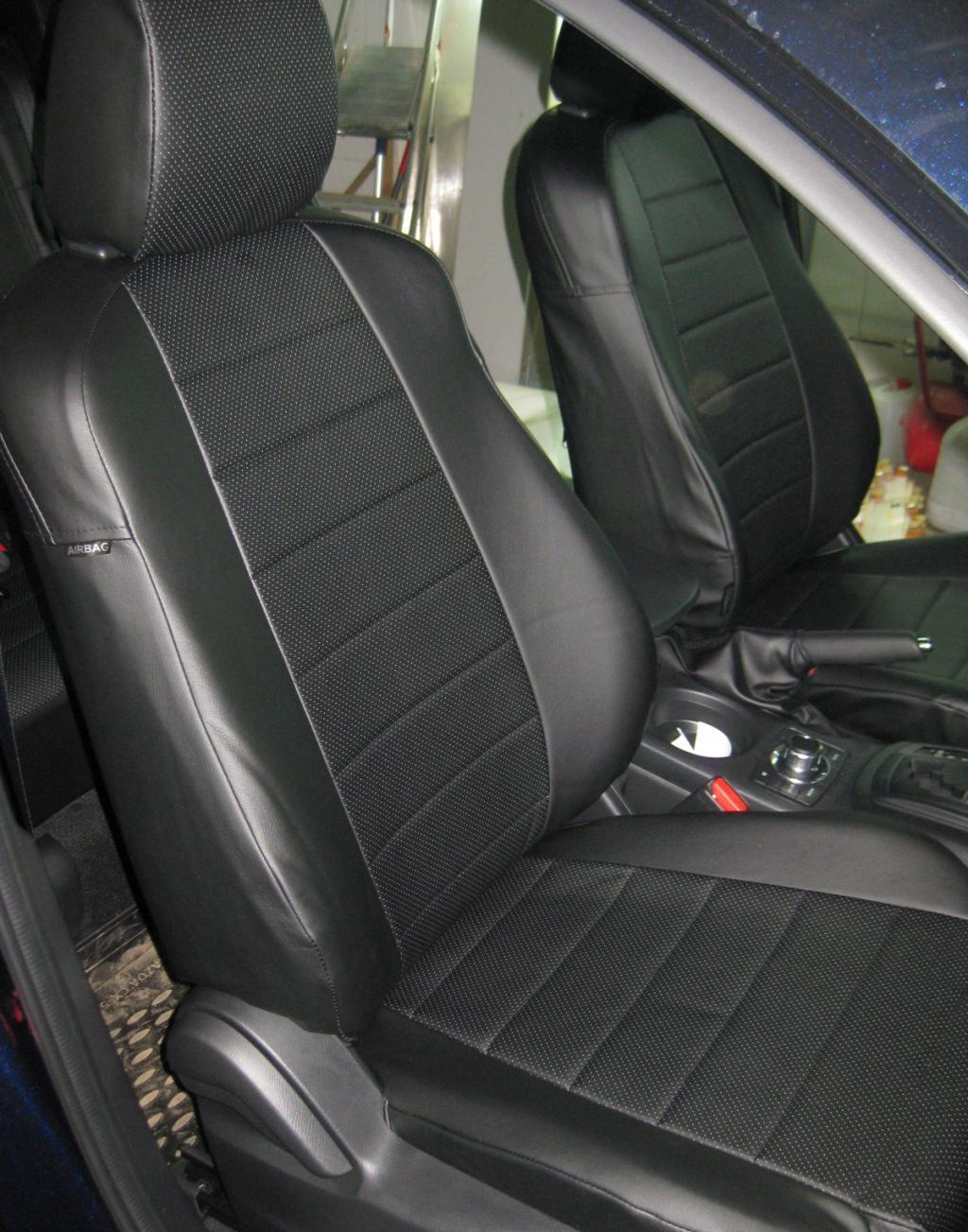 Chevrolet cruze seat covers perforated leatherette eco leather
