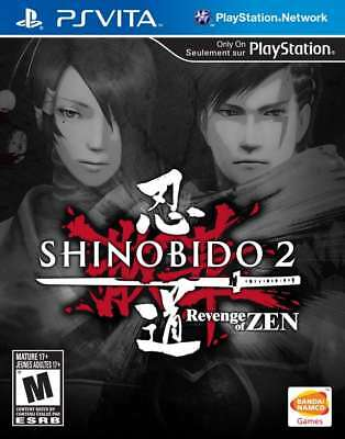 Namco Shinobido 2 Revenge Of Zen Psv Playstation_vita;